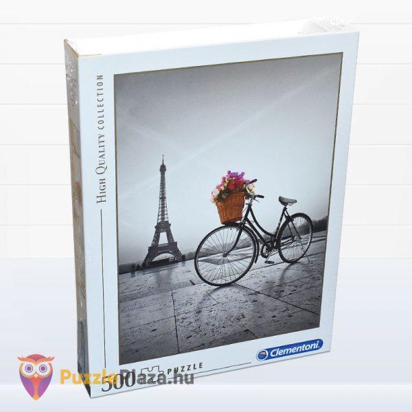 500 darabos romantikus Eiffel-torony puzzle - Clementooni High Quality Collection 35014 jobbról