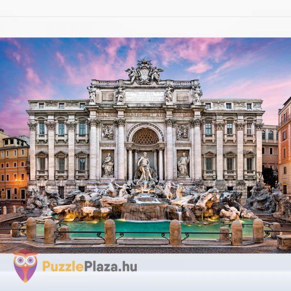 500 darabos Trevi-kút (Róma) Puzzle Barcelónában - Clementoni High Quality Collection 35062 kirakott kép
