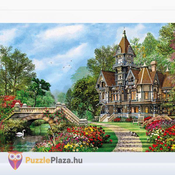 1000 darabos vidéki villa festmény puzzle - Clementoni High Quality Collection 5048 kirakott kép