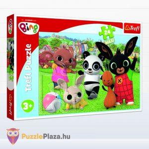 24 darabos Bing és barátai - játék a parkban maxi puzzle