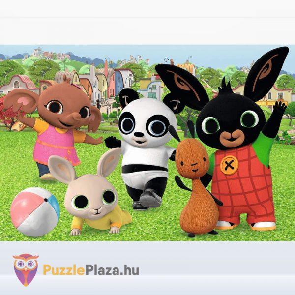 24 darabos Bing és barátai - játék a parkban maxi puzzle kirakott képe