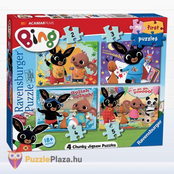 2-3-4-5 darabos Bing Nyuszi és Barátai Első Kirakóm Puzzle doboza - Ravensburger 068340