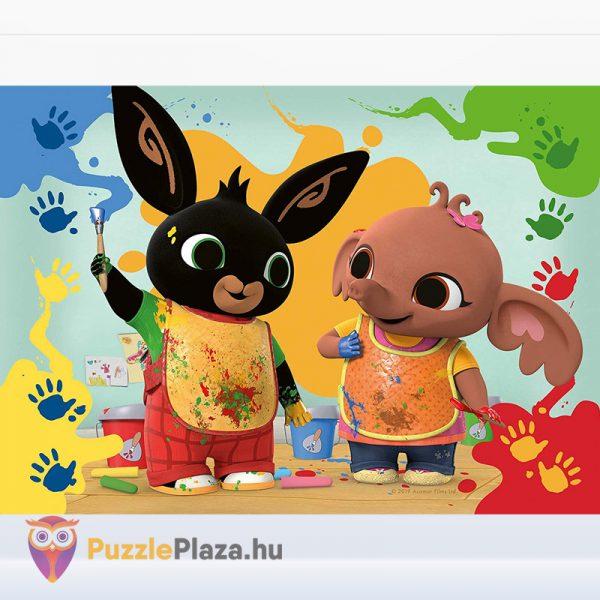 2 darabos Bing Nyuszi és Barátai Első Kirakóm Puzzle - Ravensburger 068340