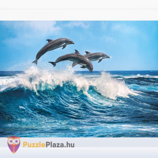 Clementoni 35055 - delfin puzzle kirakott képe