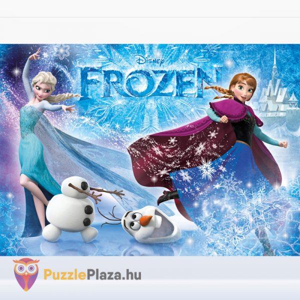 104 darabos Clementoni 29712 - Disney Jégvarázs csillámos puzzle kirakott képe