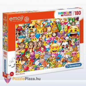 180 darabos Clementoni Supercolor emoji puzzle
