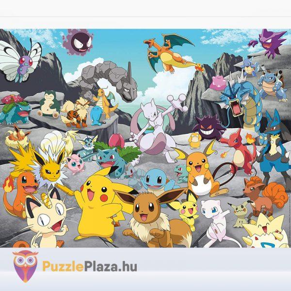 1000 darabos Pokémon klasszikusok puzzle (Ravensburger 16784) kirakott képe