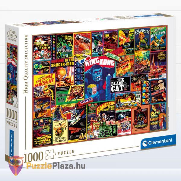 1000 darabos klasszikus thriller filmes puzzle - Clementoni 39602