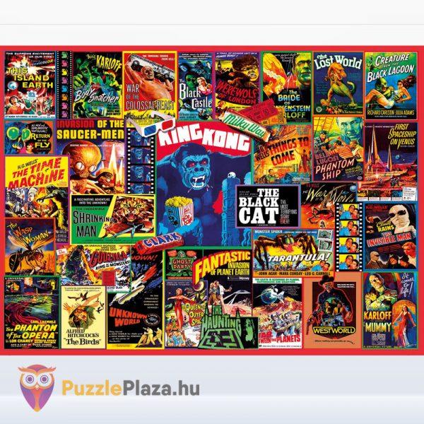 1000 darabos klasszikus thriller filmes puzzle kirakott képe - Clementoni 39602