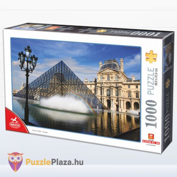 1000 darabos Louvre, Párizs puzzle - Deico 75772