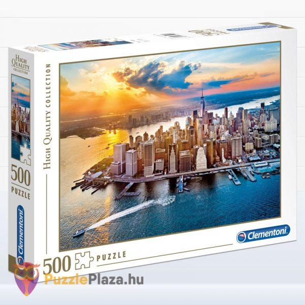 500 darabos New York, Manhattan Puzzle. Clementoni 35038