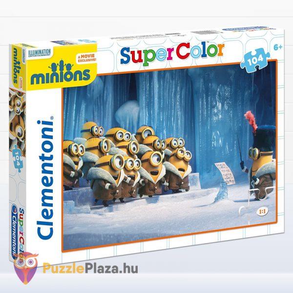 104 darabos minyonok puzzle éneklés közben. Clementoni 27927