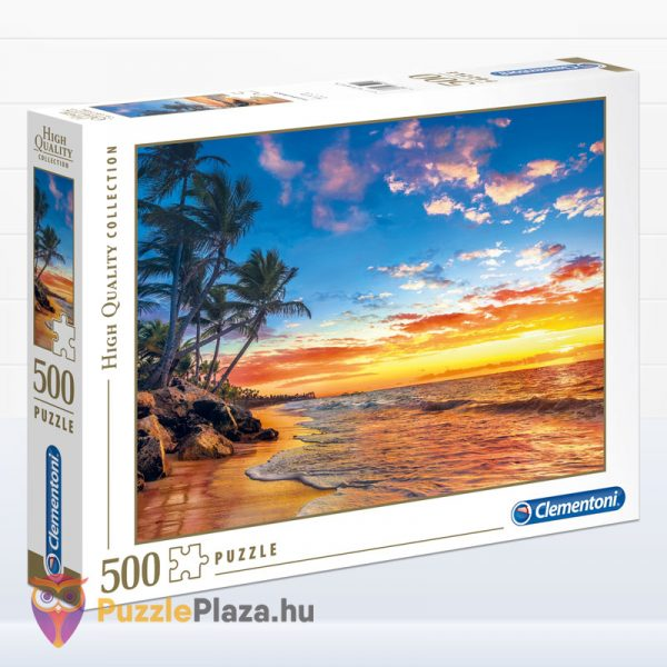 Trópusi tengerpart naplementekor - Clementoni 35058