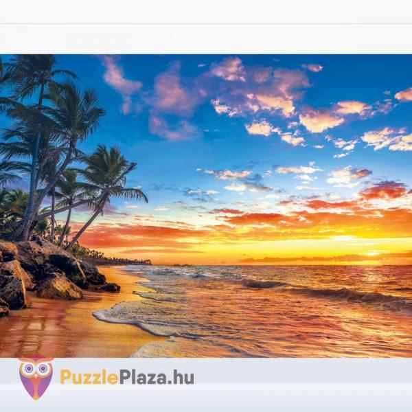 Trópusi tengerpart naplementekor - Clementoni 35058 kirakott kép