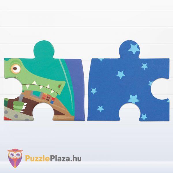 60 darabos űrhajó forma puzzle darabkái - Scratch Europe