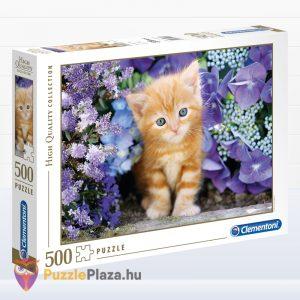 500 darabos Clementoni (30415) vörös kölyök cica puzzle