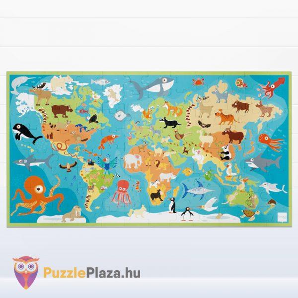 100 darabos Scratch Europe - A Világ Állatai XXL Puzzle kirakott képe