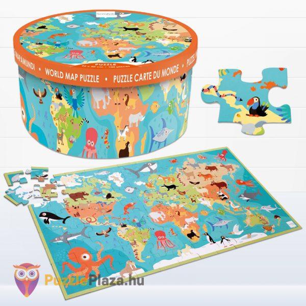 100 darabos Scratch Europe - A Világ Állatai XXL Puzzle