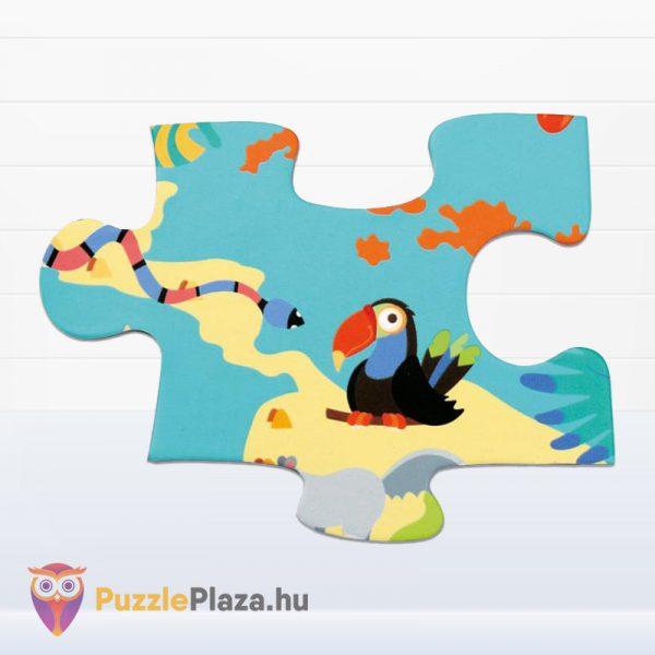 100 darabos Scratch Europe - A Világ Állatai XXL Puzzle darabja