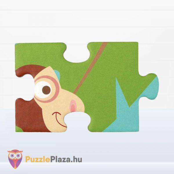 100 darabos Scratch Europe márkájú dzsungel puzzle darabkája