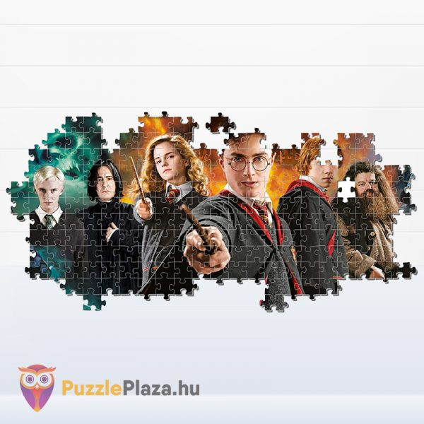 1000 darabos Harry Potter panoráma puzzle kirakó részlete - Clementoni Panorama Collection 61883