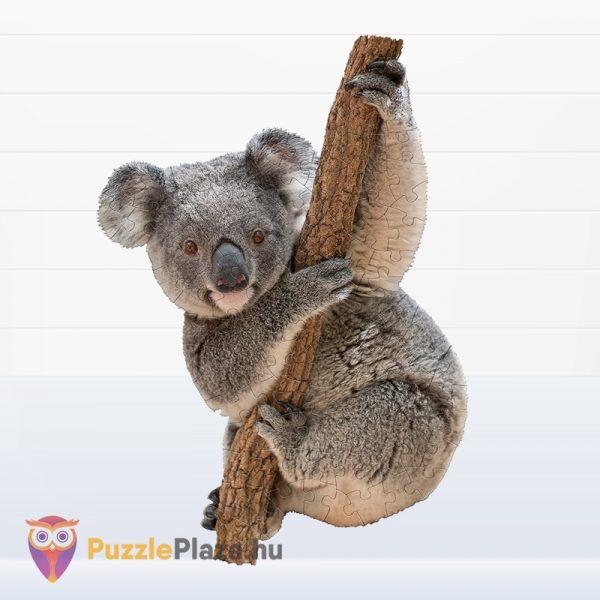 100 darabos koala forma puzzle kirakott képe