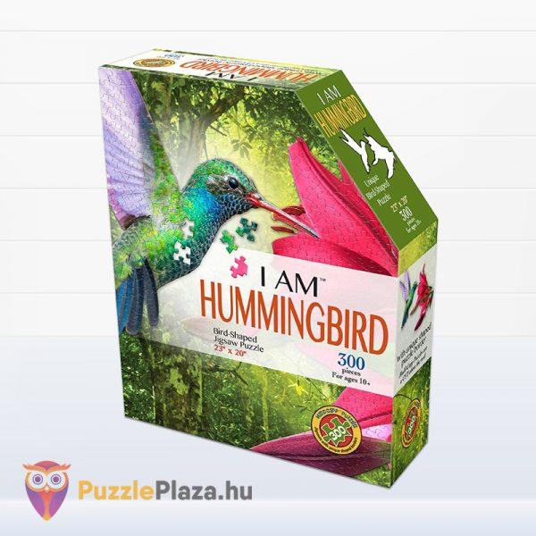 300 darabos kolibri forma puzzle doboza - Wow Toys
