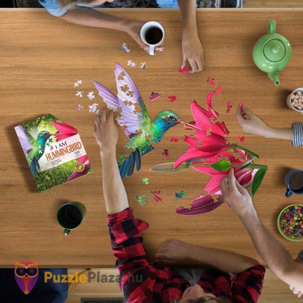 300 darabos kolibri forma puzzle kirakózás közben - Wow Toys