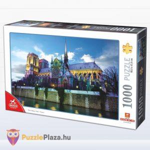 1000 darabos Notre-Dame puzzle doboza. Deico 76069