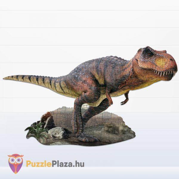 100 darabos T-Rex dinoszaurusz forma puzzle kirakott képe - Wow Toys