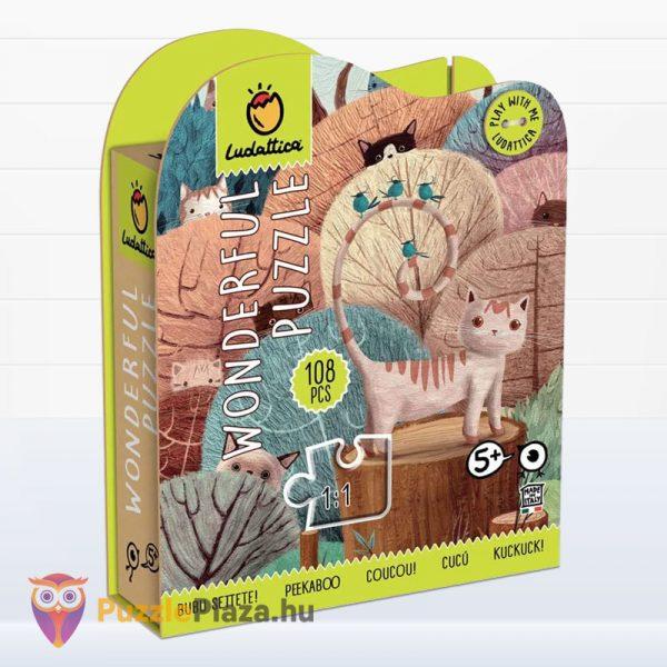 108 darabos Wonderful Puzzle (csodálatos kirakó) - Peek a Boo