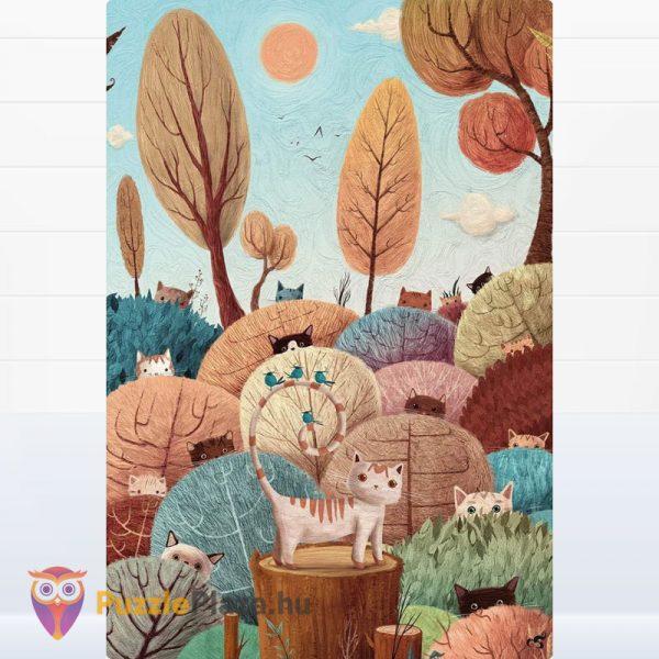 108 darabos Wonderful Puzzle (csodálatos kirakó) - Peek a Boo kirakott képe