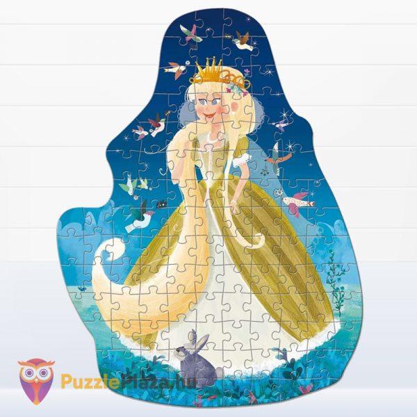 100 darabos Fantasy puzzle - Hercegnő kirakott képe - Ludattica