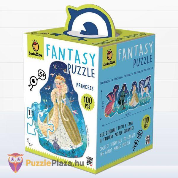 100 darabos Fantasy puzzle - Hercegnő - Ludattica