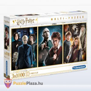 Harry Potter Multi Puzzle 3 x 1000 db – Clementoni 61884