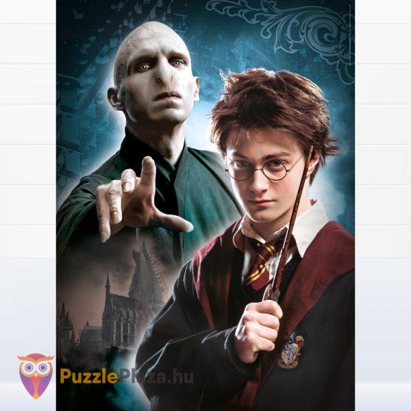 Harry Potter Multi Puzzle kirakó képe - 3 x 1000 db – Clementoni 61884