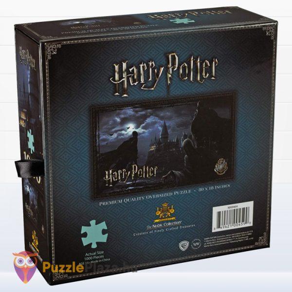 1000 darabos Harry Potter puzzle - Dementorok Roxfortban (Hogwartz) doboza hátulról