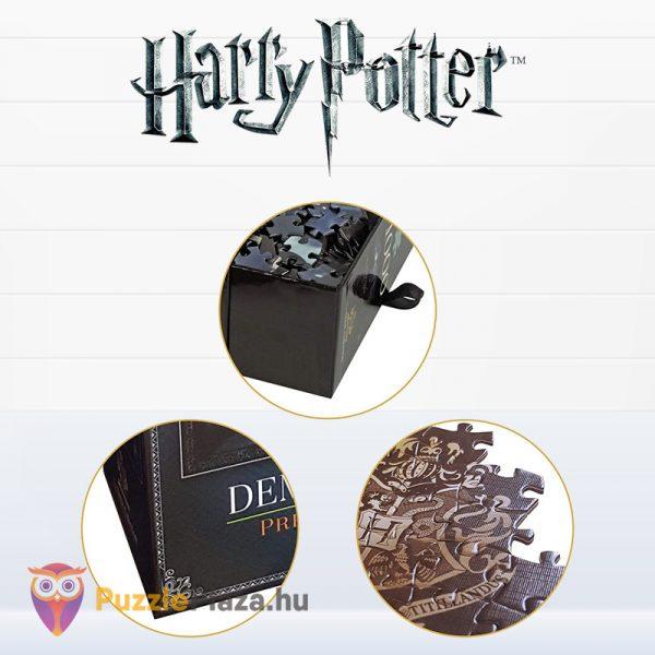 1000 darabos Harry Potter puzzle - Dementorok Roxfortban (Hogwartz) kirakó részletek