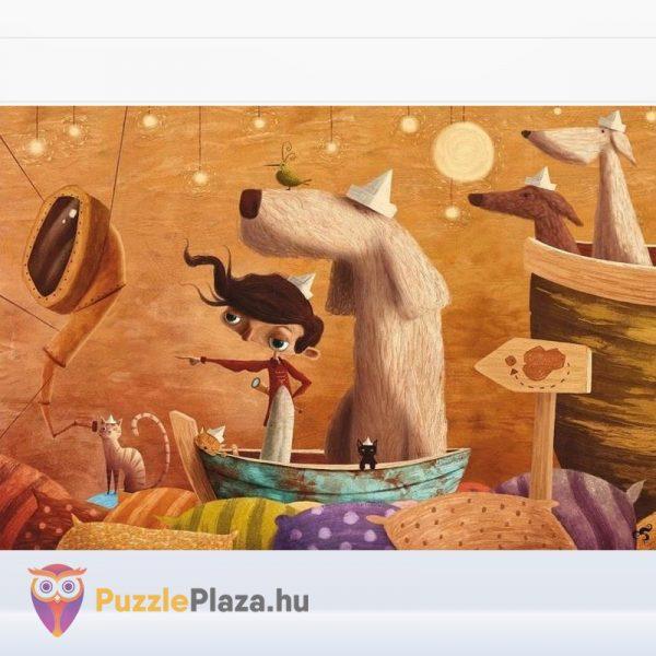 108 darabos képzeletbeli utazás puzzle kirakott képe - Lis Ludattica Wonderful Puzzle