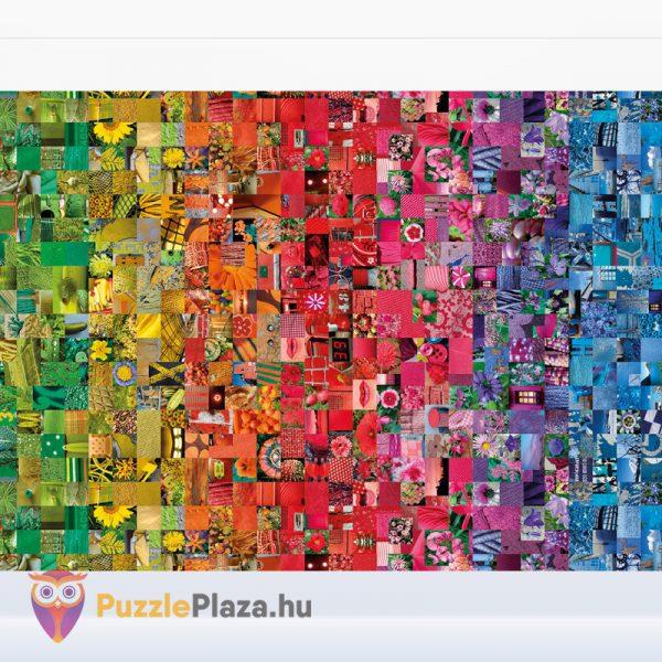 1000 darabos kollázs puzzle kirakó képe, a ColorBoom Collection egyik tagja. Clementoni 39595
