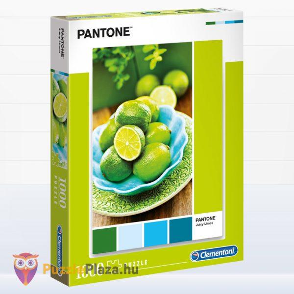 1000 darabos lédú lime: Pantone 382 puzzle. Clementoni 39492