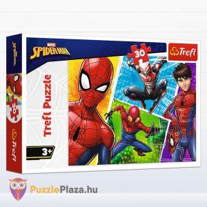 30 darabos Pókember és Miguel puzzle - Trefl 18242