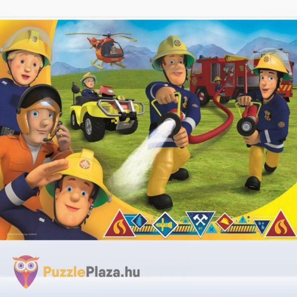 30 darabos Sam, a tűzoltó puzzle - Segítségre készen - Trefl 18244 kirakott kép