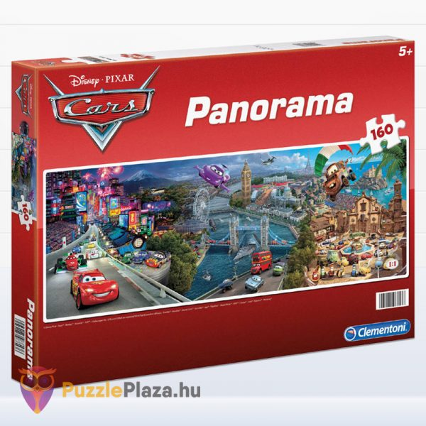 160 darabos Verdák panoráma puzzle - Clementoni