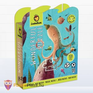 108 darabos a zenész mester állatos puzzle - Lis Ludattica Wonderful Puzzle