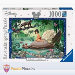 1000 db-os A Duzsungel könyve puzzle, a Disney Collectors Edition egyik tagja. Ravensburger 19744