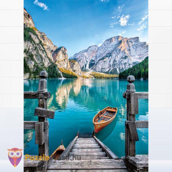 1000 darabos Braies-tó multi puzzle. Clementoni 08106