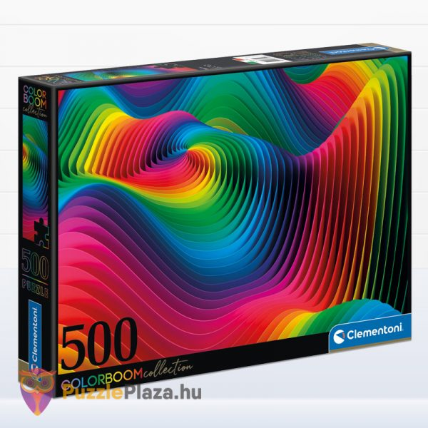 500 db Hullámok (Waves) ColorBoom Collection Puzzle - Clementoni 35093