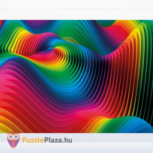 500 db Hullámok (Waves) ColorBoom Collection Puzzle kirakott képe - Clementoni 35093