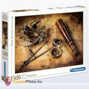 1500 darabos kinvadászat puzzle - Clementoni 31808